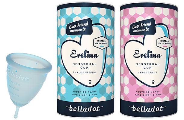 Evelina menstruatiecup